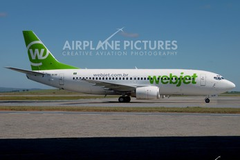PR-WJW - WebJet Linhas Aéreas Boeing 737-300