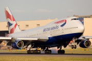 G-BYGD - British Airways Boeing 747-400 aircraft