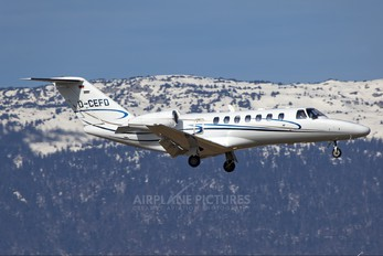 G-CEFD - Private Cessna 525B Citation CJ3