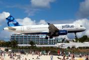 N564JB - JetBlue Airways Airbus A320 aircraft