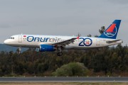 TC-OBM - Onur Air Airbus A320 aircraft