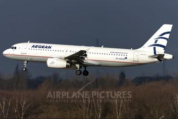 SX-DVG - Aegean Airlines Airbus A320