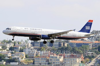 N519UW - US Airways Airbus A321