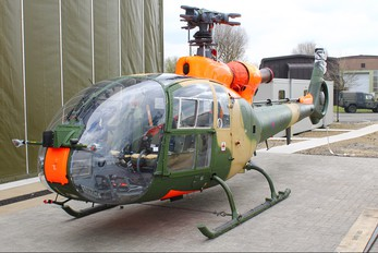 ZB671 - British Army Westland Gazelle AH.1