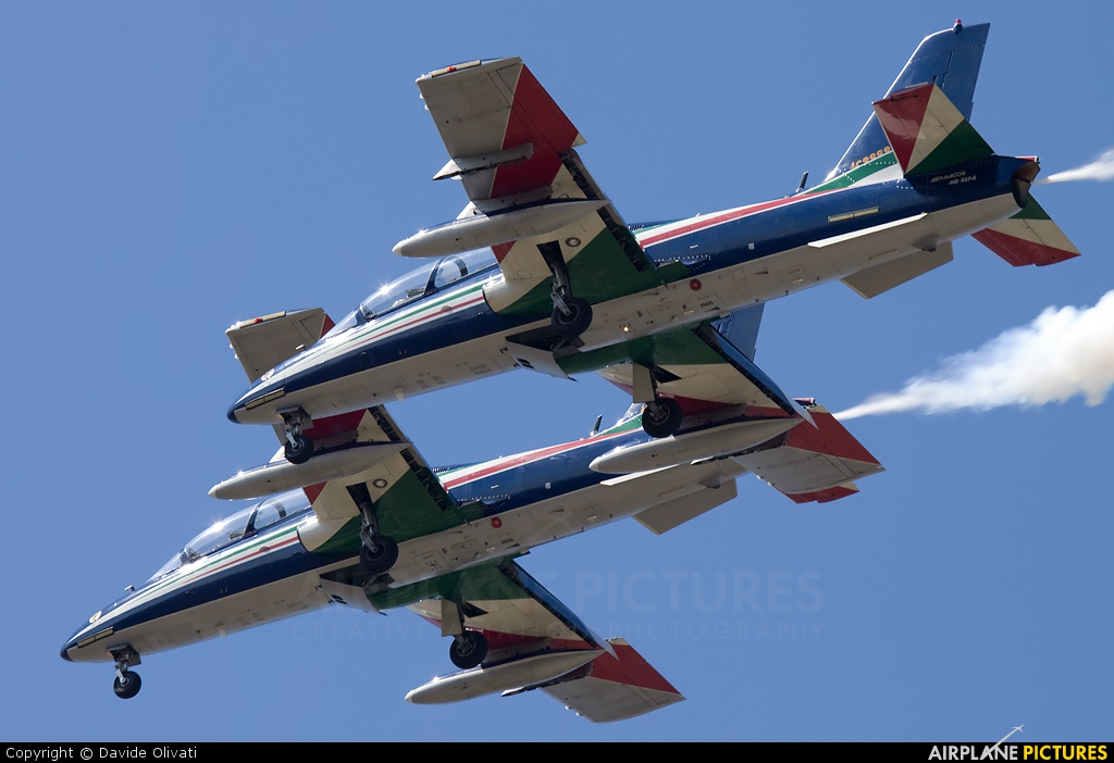 "Italy - Air Force ""Frecce Tricolori"" - aircraft at Rivolto"