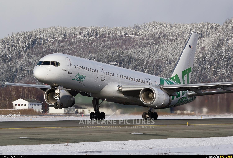 Mint Airways EC-LBC aircraft at Trondheim - Vaernes