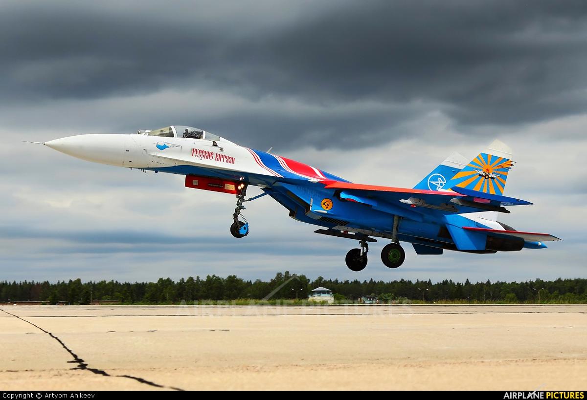 """Russia - Air Force """"Russian Knights"""" 01 aircraft at Kubinka"""