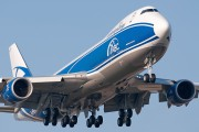 VQ-BLR - Air Bridge Cargo Boeing 747-8F aircraft
