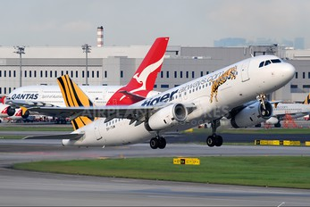 9V-TAW - Tiger Airways Airbus A320