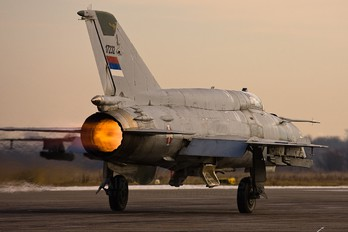 17232 - Serbia - Air Force Mikoyan-Gurevich MiG-21bis