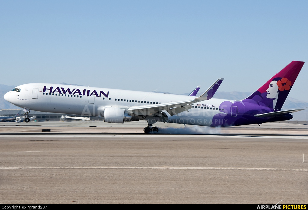 Hawaiian Airlines N580HA aircraft at Las Vegas - McCarran Intl
