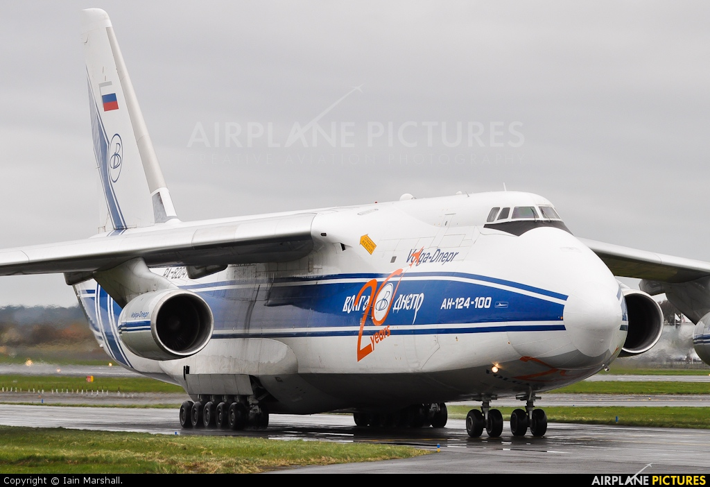 Volga Dnepr Airlines RA-82047 aircraft at Prestwick