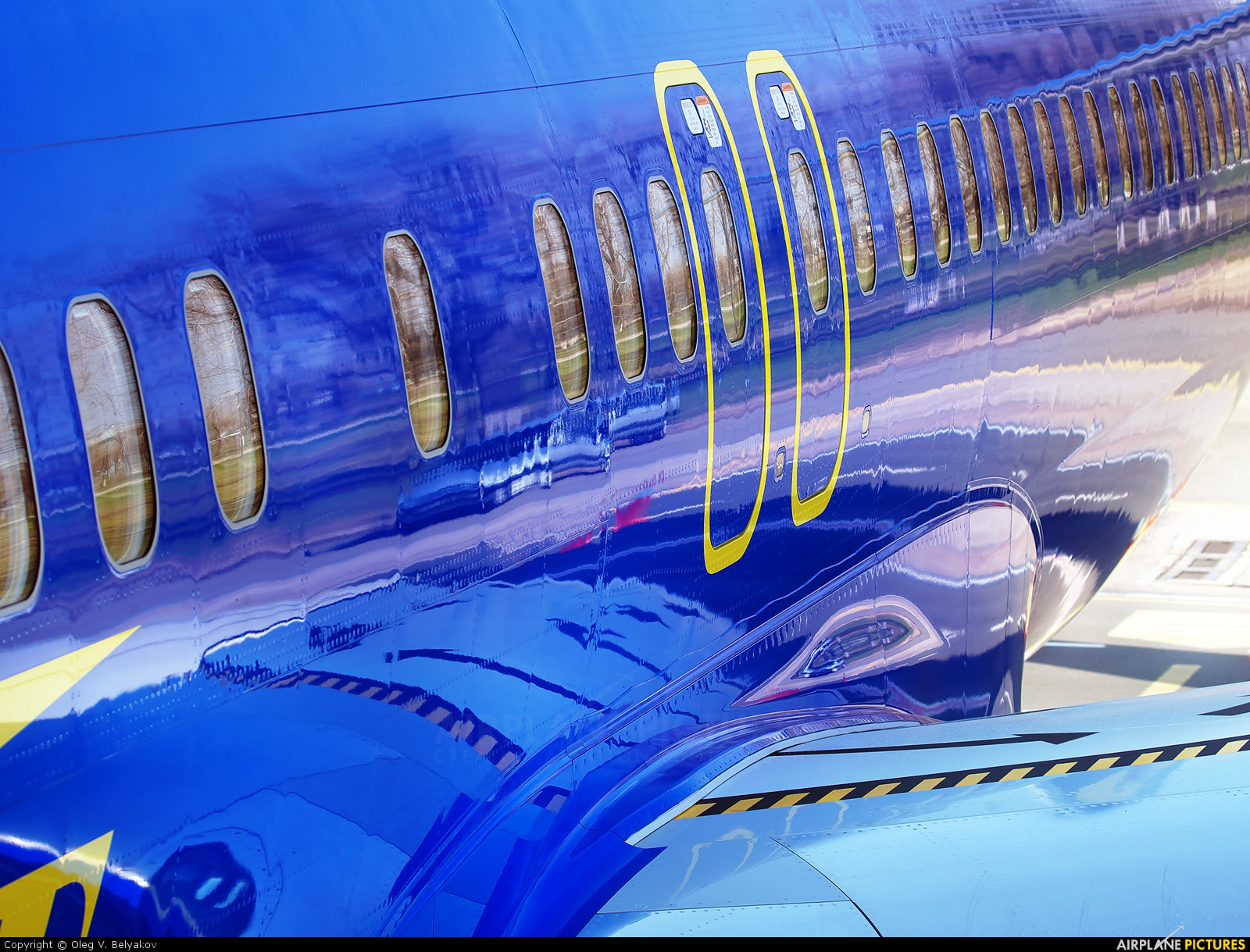 Aerosvit - Ukrainian Airlines UR-AAN aircraft at Kyiv - Borispol