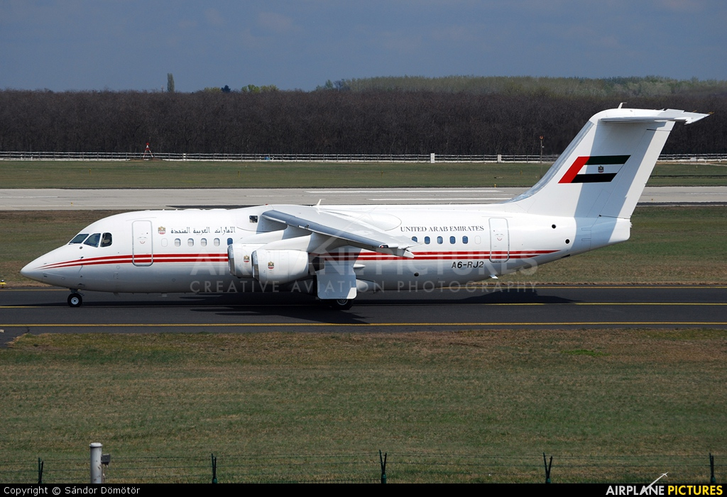United Arab Emirates - Government A6-RJ2 aircraft at Budapest - Ferihegy