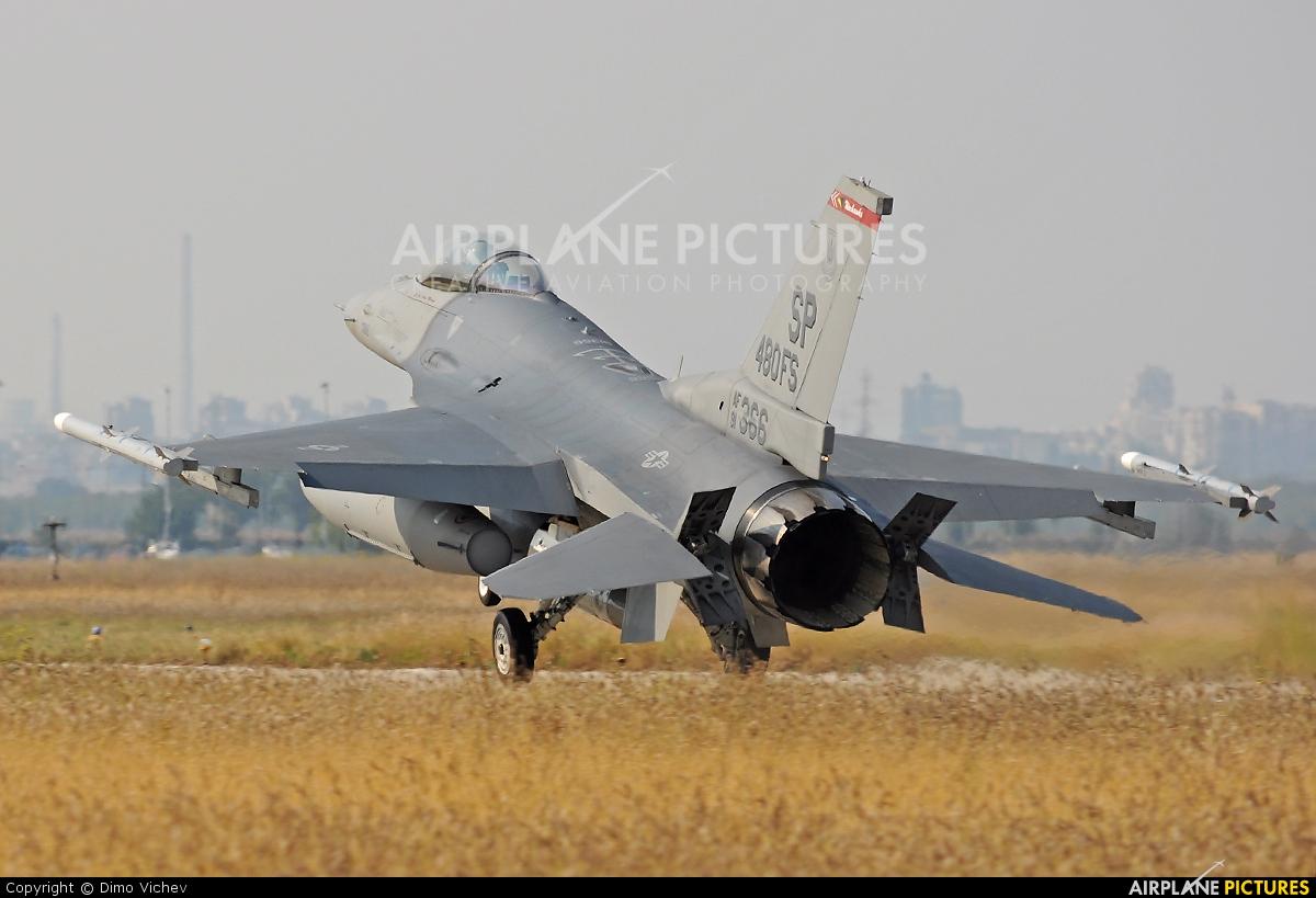 USA - Air Force 91-0366 aircraft at Plovdiv - Krumovo