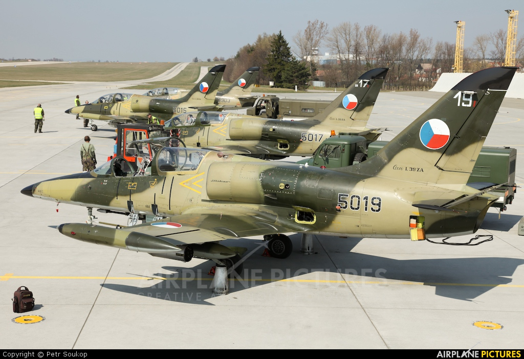Czech - Air Force 5019 aircraft at Náměšť nad Oslavou