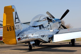 D-FUNN - Private North American TF-51D Mustang