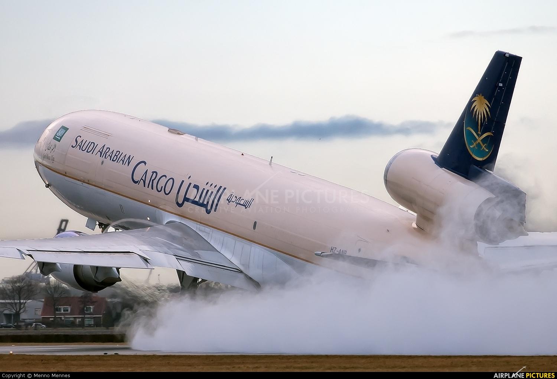 Saudi Arabian Cargo HZ-ANB aircraft at Amsterdam - Schiphol