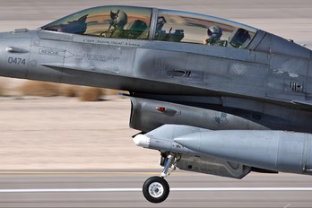 91-0474 - USA - Air Force General Dynamics F-16D Fighting Falcon