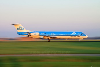 PH-OFL - KLM Cityhopper Fokker 100