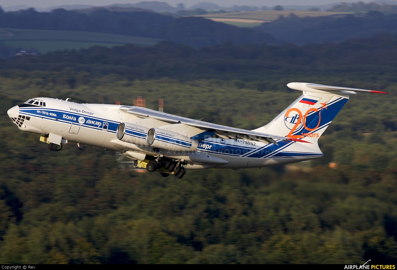 Volga Dnepr Airlines RA-76952 aircraft at Cologne Bonn - Konrad Adenauer