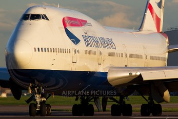 G-BNLR - British Airways Boeing 747-400