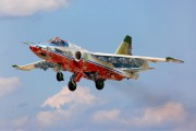 75 - Russia - Air Force Sukhoi Su-25SM aircraft