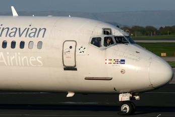 LN-RMT - SAS - Scandinavian Airlines McDonnell Douglas MD-81