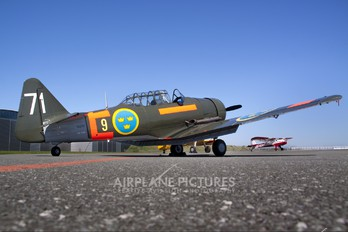SE-FUD - Swedish Air Force Historic Flight North American Harvard/Texan (AT-6, 16, SNJ series)