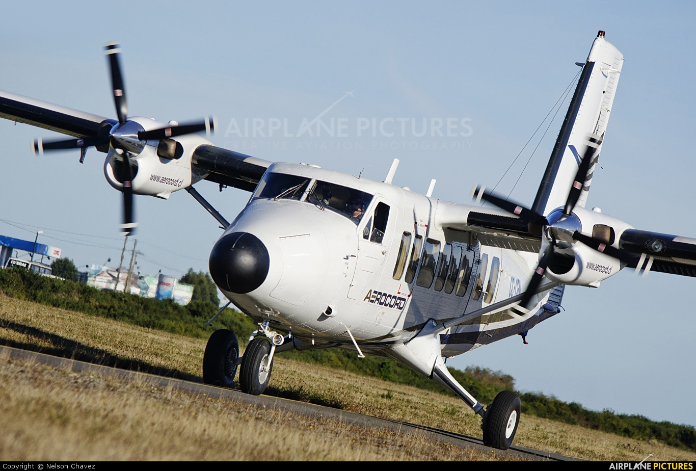Aerocord CC-CFN aircraft at Puerto Montt - Marcel Marchat
