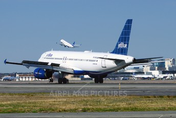 N552JB - JetBlue Airways Airbus A320