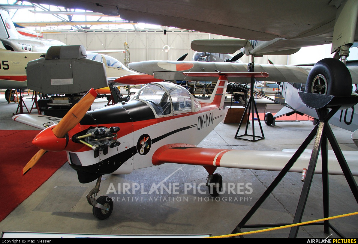 Private OK-YXA aircraft at Prague - Kbely, Letecké muzeum