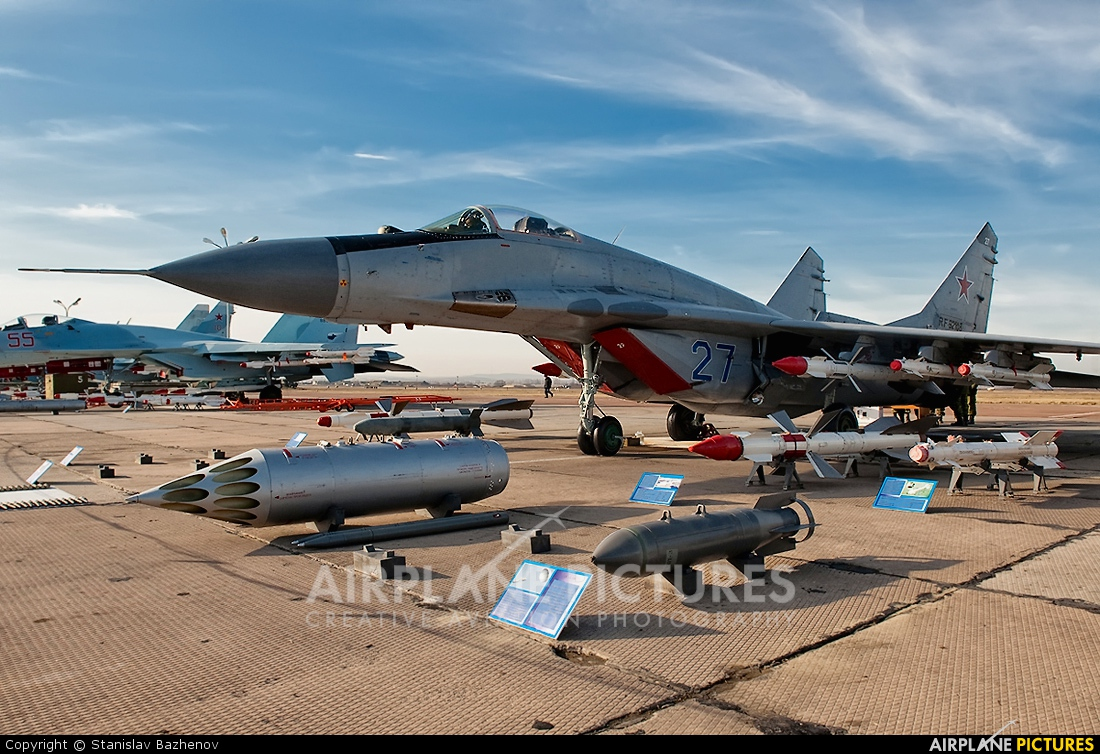 Russia - Air Force 27 aircraft at Undisclosed Location