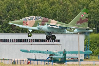 90 - Russia - Air Force Sukhoi Su-25UB