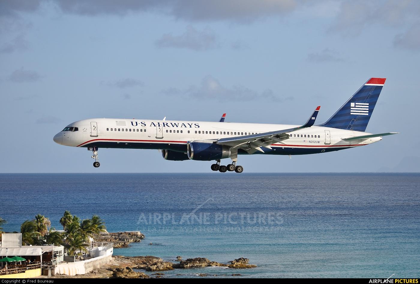 US Airways N202UW aircraft at Sint Maarten - Princess Juliana Intl