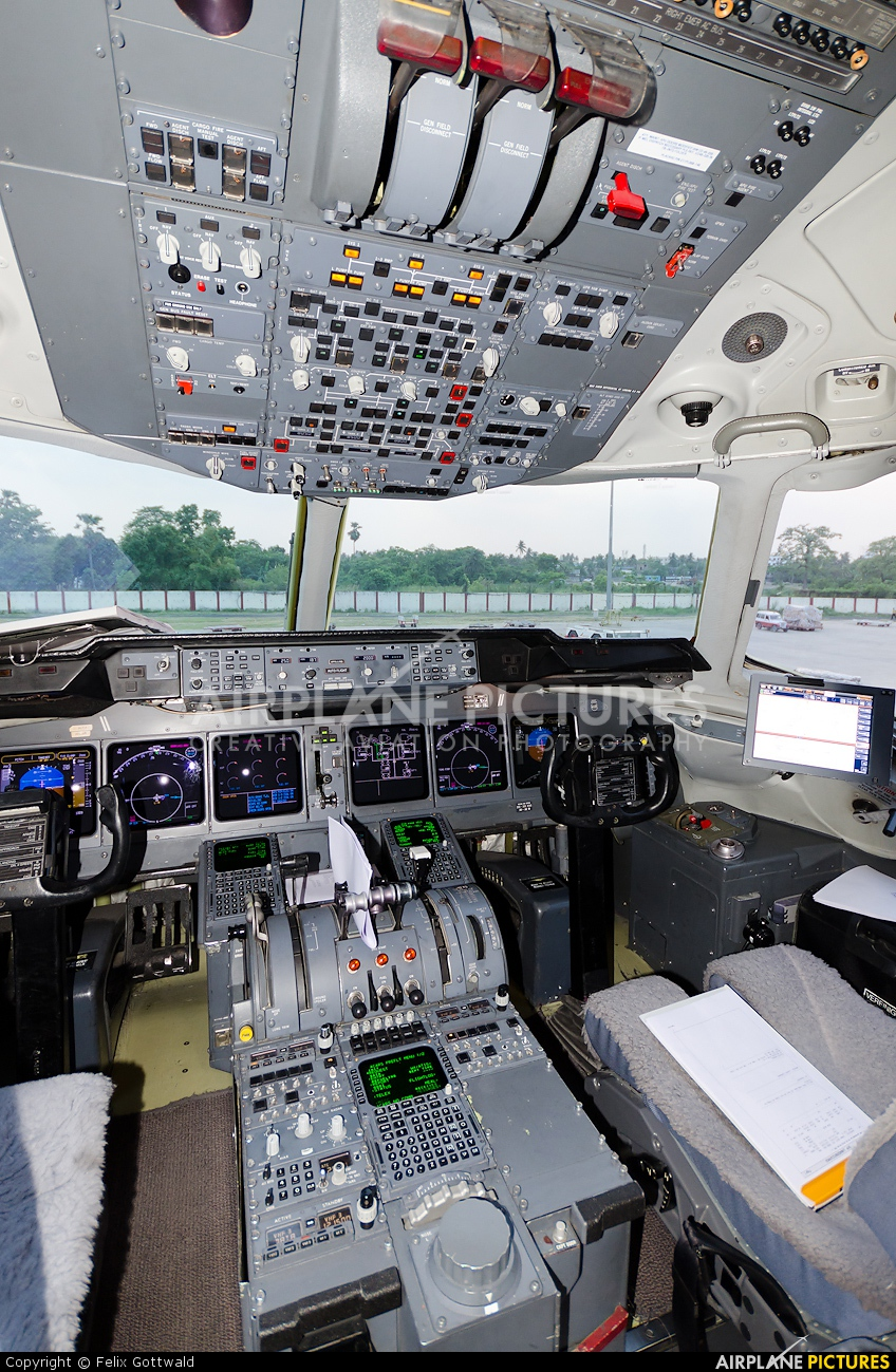 Lufthansa Cargo D-ALCJ aircraft at Kolkatta