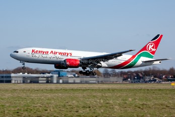 5Y-KYZ - Kenya Airways Boeing 777-200ER