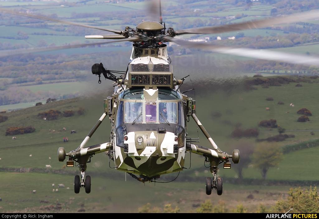 Royal Navy ZF115 aircraft at Off Airport - England