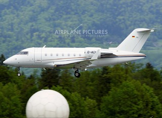 D-ACUA - Private Canadair CL-600 Challenger 600 series