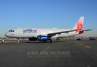 N605JB - JetBlue Airways Airbus A320