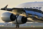 9V-SKA - Singapore Airlines Airbus A380 aircraft