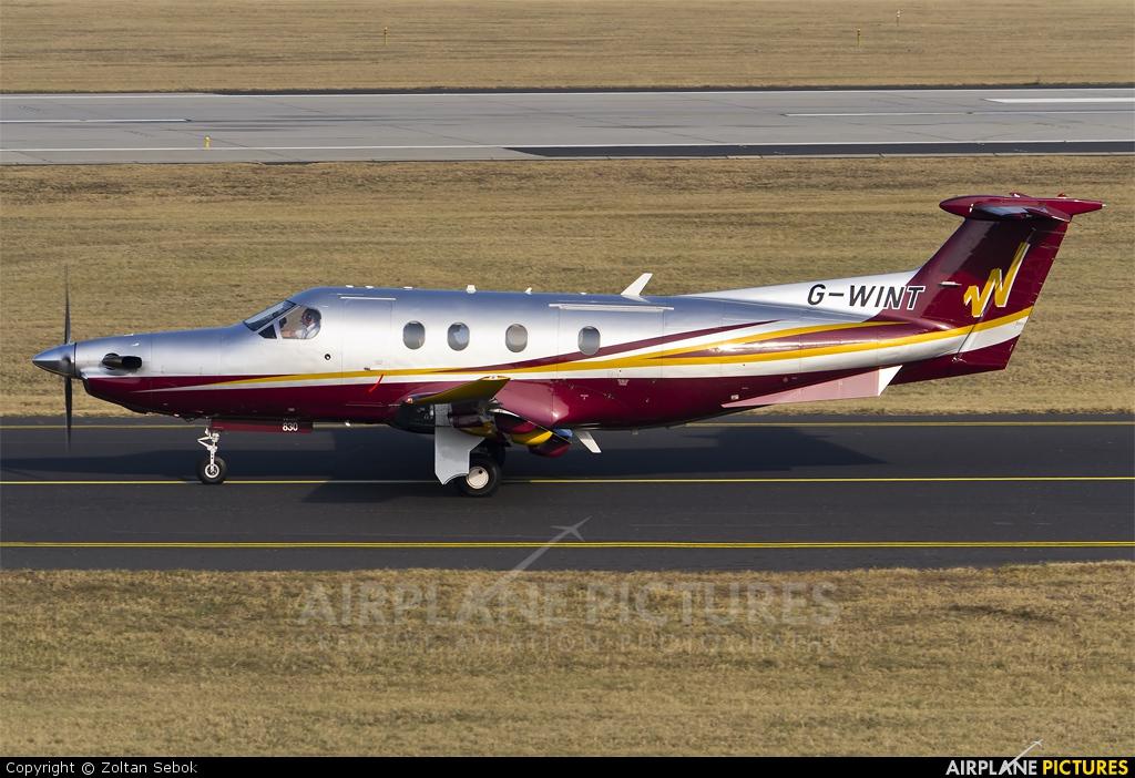 Air Winton G-WINT aircraft at Budapest Ferenc Liszt International Airport