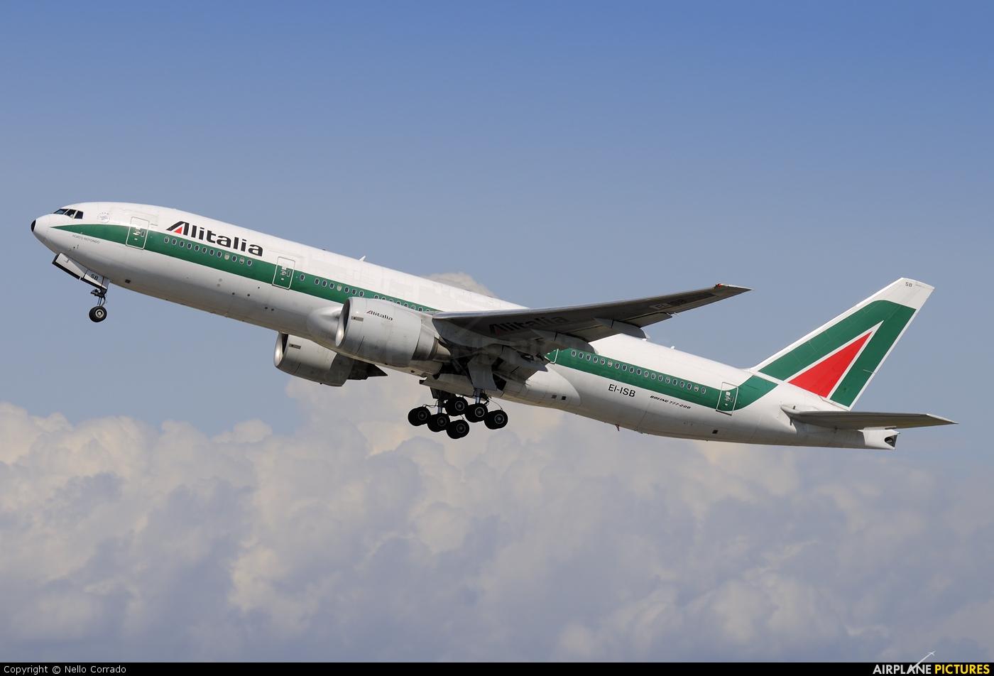 Jet Privato Alitalia : Ei isb alitalia boeing er at rome fiumicino