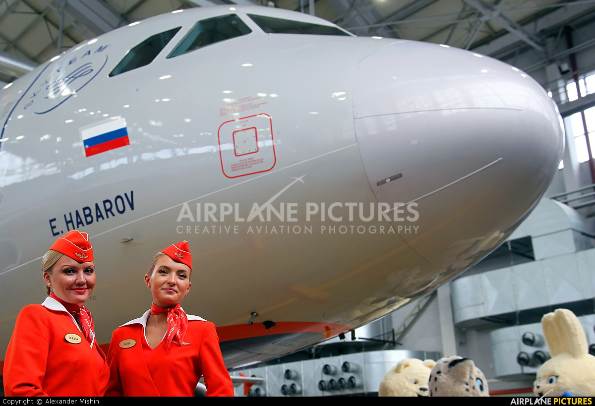 - Aviation Glamour - aircraft at Moscow - Sheremetyevo