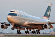 B-HUD - Cathay Pacific Boeing 747-400 aircraft