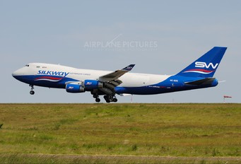 4K-800 - Silk Way Airlines Boeing 747-400F, ERF