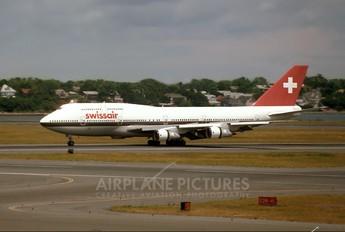 HB-IGG - Swissair Boeing 747-300