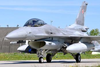4063 - Poland - Air Force Lockheed Martin F-16C block 52+ Jastrząb