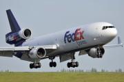 N593FE - FedEx Federal Express McDonnell Douglas MD-11F aircraft