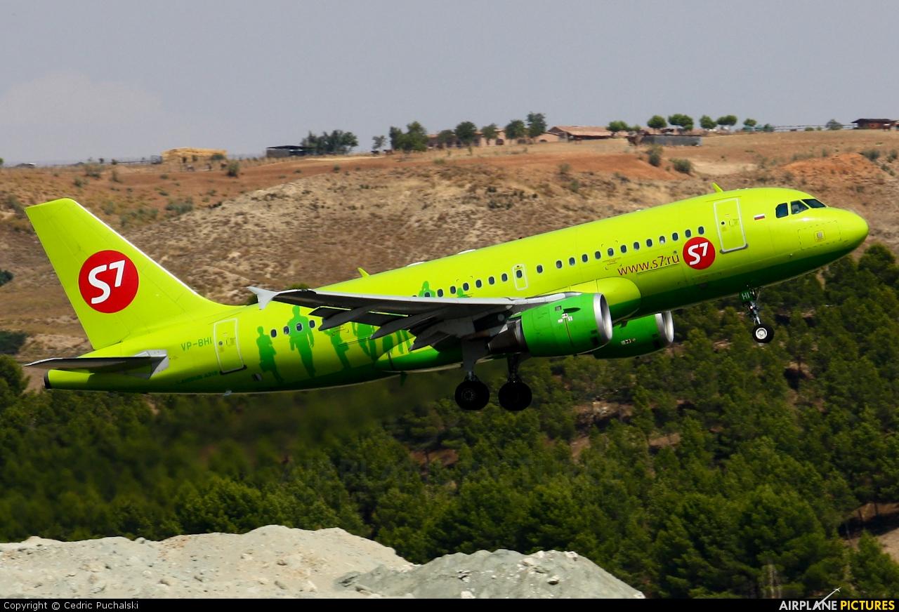 S7 Airlines VP-BHI aircraft at Madrid - Barajas
